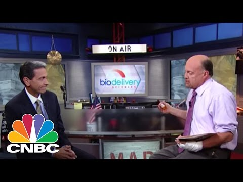 Pain & Addiction - BioDelivery Sciences   Mad Money   CNBC
