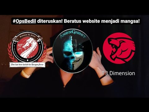 Hacker Malaysia Mengganas! Hacker Israel Balas Dendam? #OpsBedil