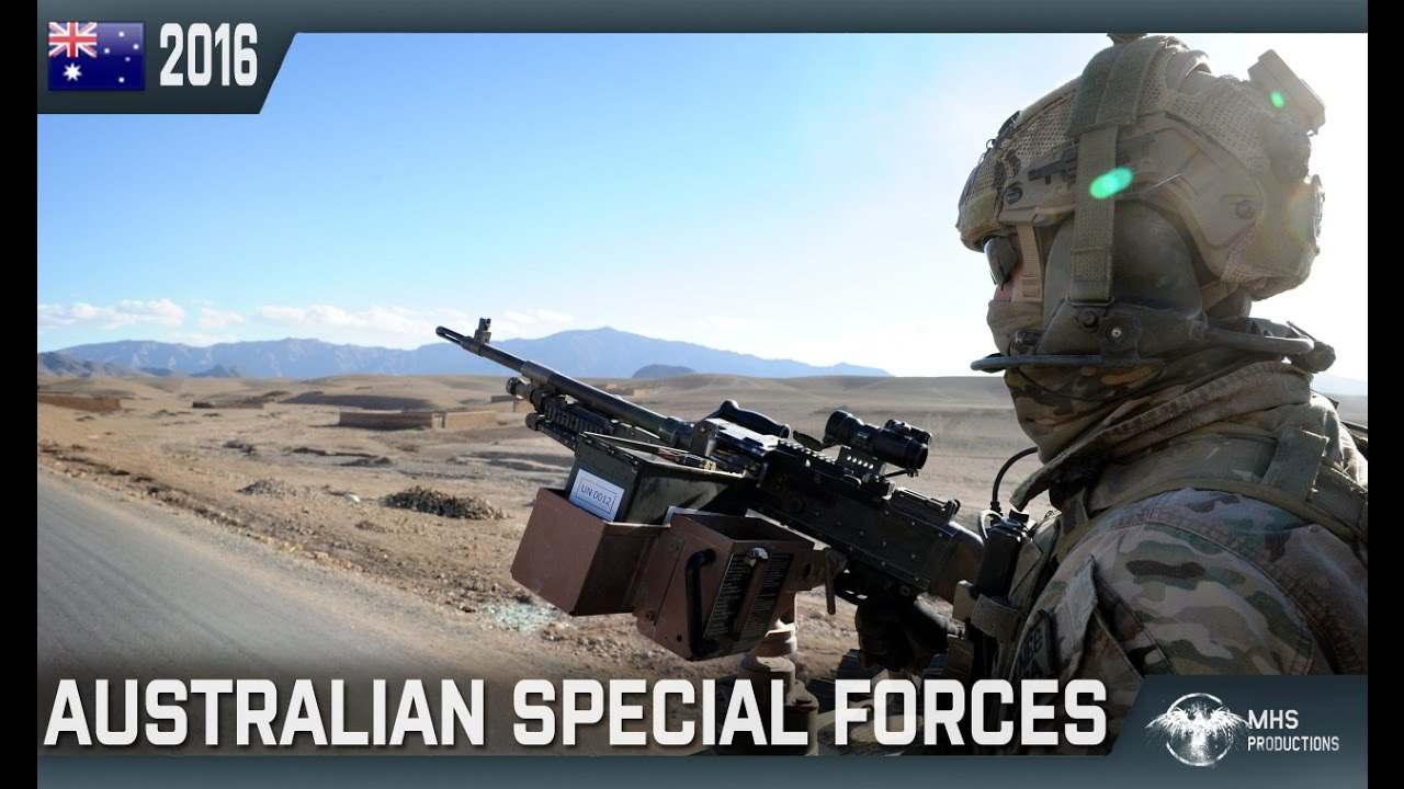 Australian Special Forces The Cutting Edge Youtube