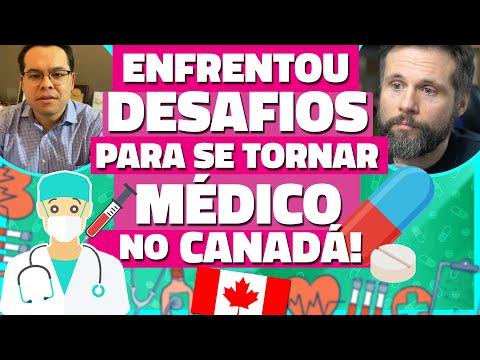BRASILEIRO ENFRENTOU DESAFIOS PARA SE TORNAR MÉDICO NO CANADÁ - História de Vida no Canadá