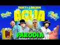 "Tainy, J Balvin - Agua (Music From ""Sponge On The Run"" Movie/PARODIA)"