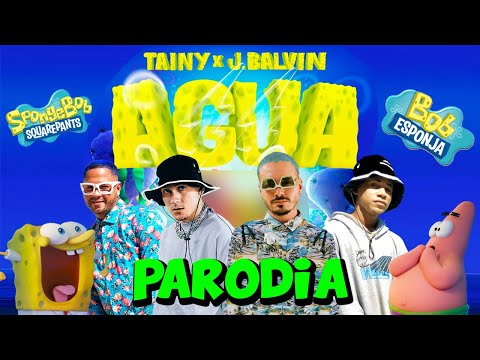 "Tainy, J Balvin – Agua (Music From ""Sponge On The Run"" Movie/PARODIA)"