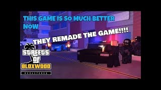 The Streets Of Bloxwood Remastered | ROBLOX - GTA 5 IN ROBLOX!!!