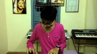 new telugu song mellaga karagani from varsham on keyboard by k.sai teja