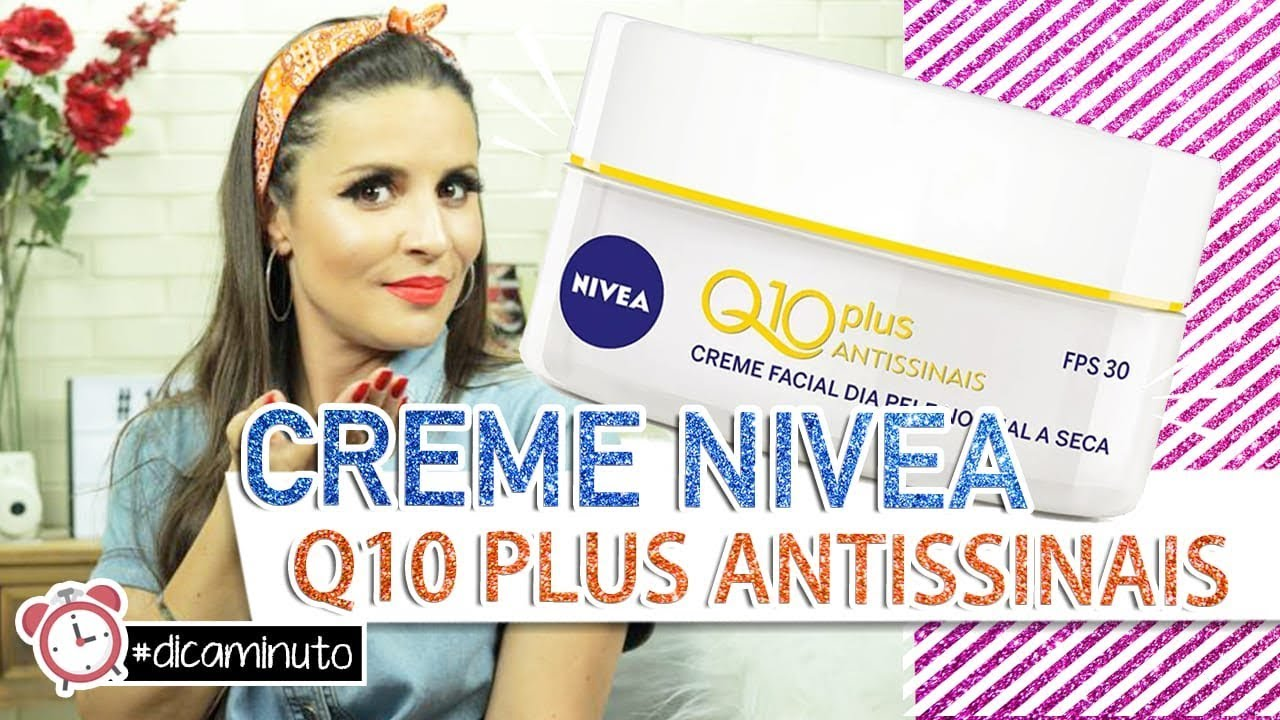 LANÇAMENTO! Creme Nivea Q10 PLUS Antissinais #DicaMinuto..