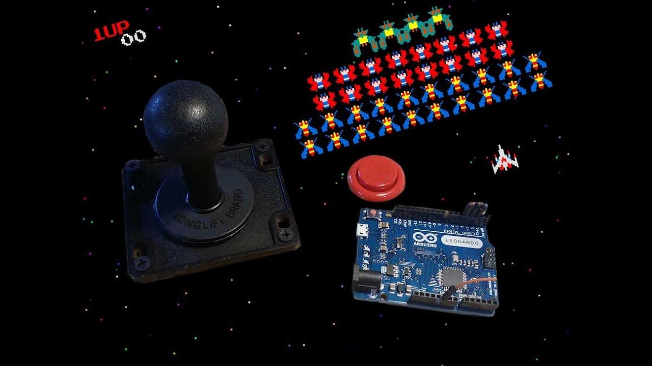 make an arcade controller using an arduino leonardo or micro - tutorial