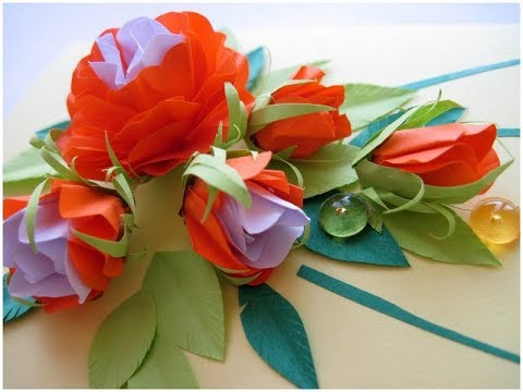 How to Make Easy DIY paper flowers [Tutorial]