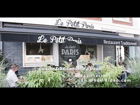 Le petit paris restaurant douai by en mode vid o youtube for Le petit salon paris