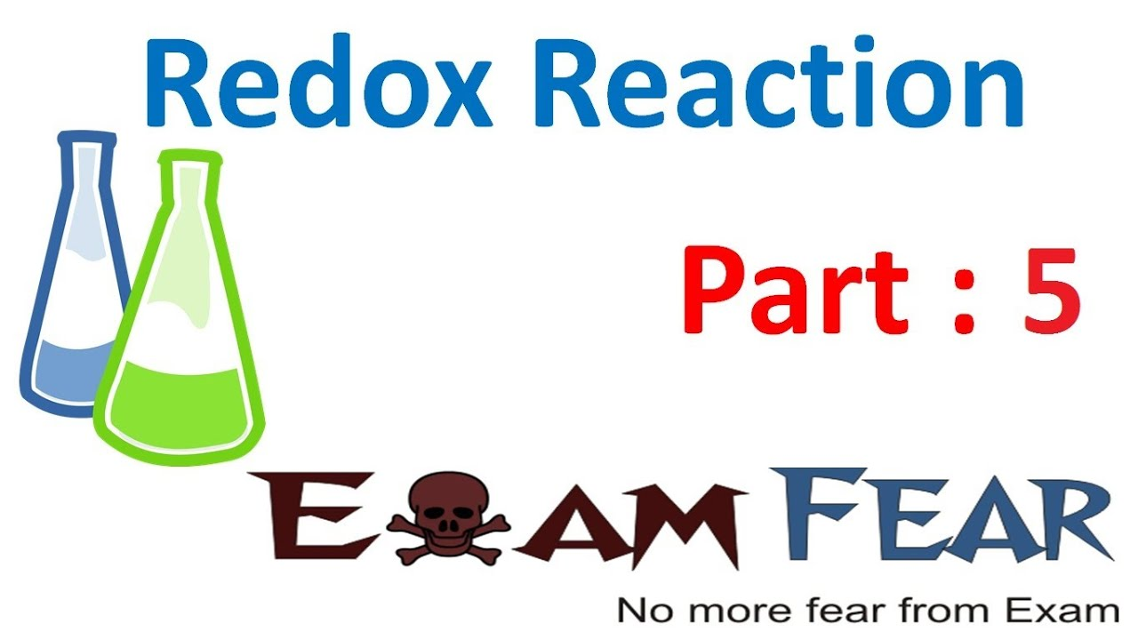Chemistry Redox Reaction part 5 (Oxidation number) CBSE class 11 XI