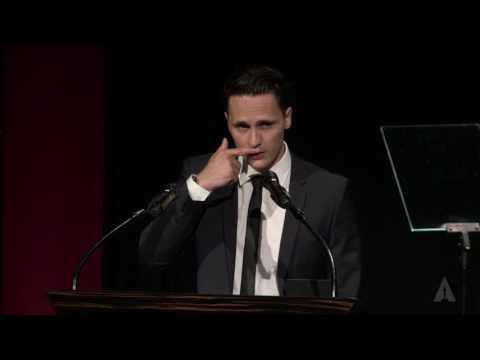 Alex Schaad, Foreign Narrative Gold Medal: 2016 Student Academy Awards