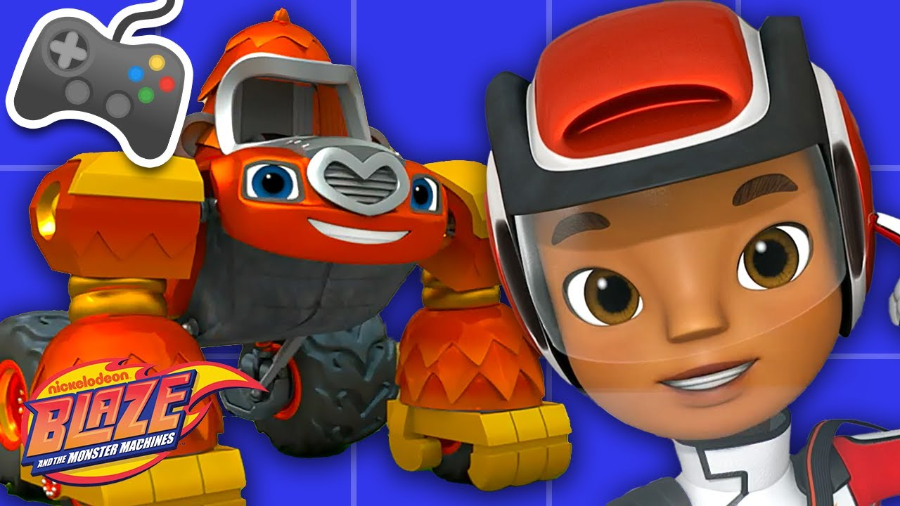 Download AJ's Auto Arcade #6 With Blaze! | Games for Kids | Blaze and the Monster Machines