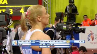 European Indoor Championships Prague 2015 Pole vault - Women Final