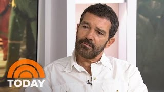 Antonio Banderas: There Were 'Tough Conditions' Making film 'The 33'   TODAY