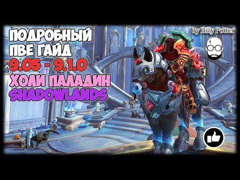 ХОЛИ ПАЛАДИН | Подробный ПВЕ #ГАЙД | WoW Shadowlands 9.0.5-9.1.0