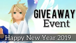 Toram Online: GIVE AWAY EVENT | Thank you for 9000subs and Happy New Year!
