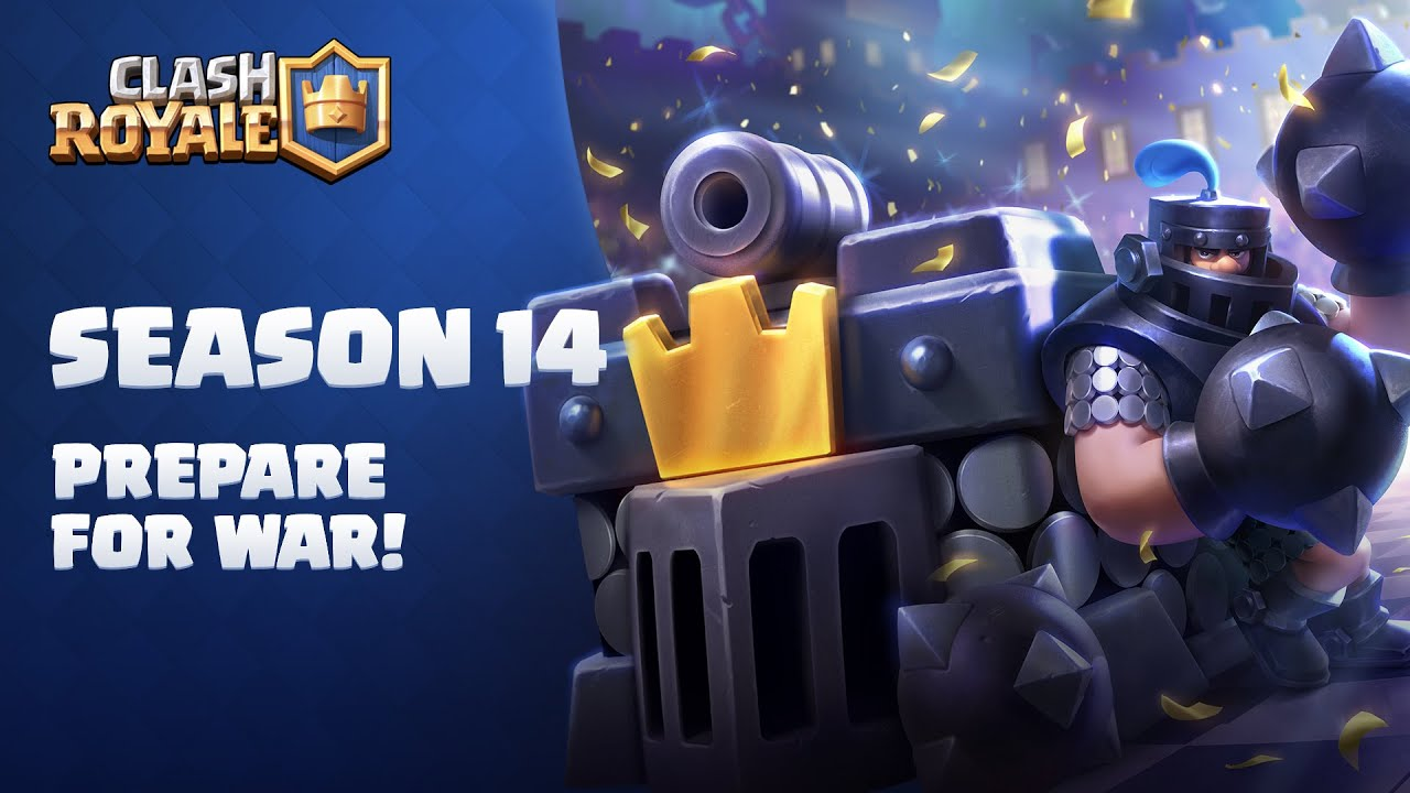 Clash Royale Season 14: Prepare For War! 👊 (Season Overview)