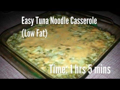 Easy Tuna Noodle Casserole (Low Fat) Recipe