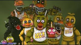 All Chicas Sing Fnaf Song
