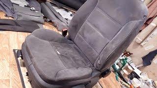 видео Накидки на сиденья автомобиля из алькантары