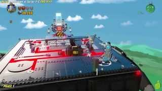 Lego Dimensions: Lvl 2 Meltdown at Sector 7-G FREE PLAY (All Starter Pack Minikits) - HTG