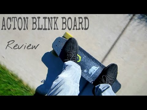 ACTON BLINK BOARD REVIEW! (THE FIRST GEN)