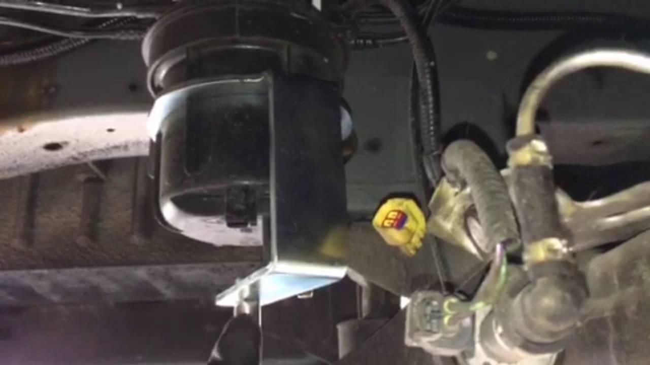 Chiave Filtro Gasolio Ford K650173 Youtube