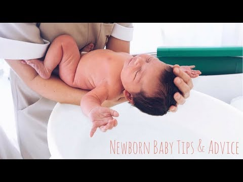 NEWBORN BABY TIPS & ADVICE | Lucy Jessica Carter