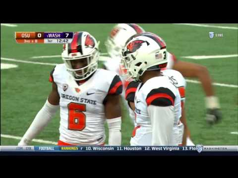 2016 Oregon State at Washington