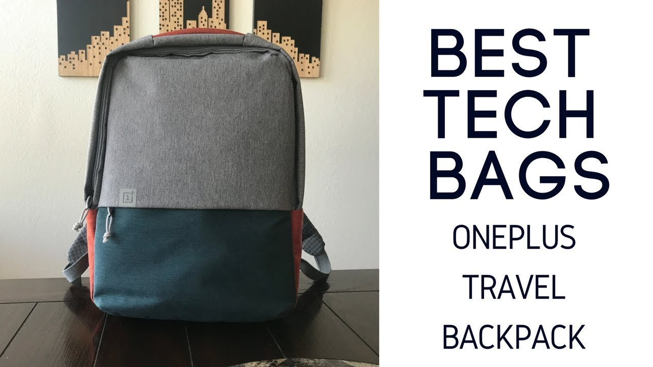 fb5f187aac Best Tech Bags  OnePlus Travel Backpack Review - YouTube