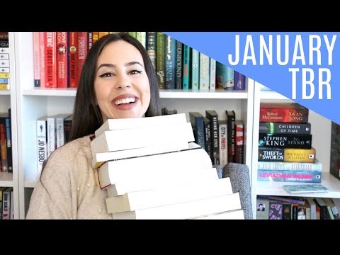 January TBR 2018 || Books I Want to Read This Month