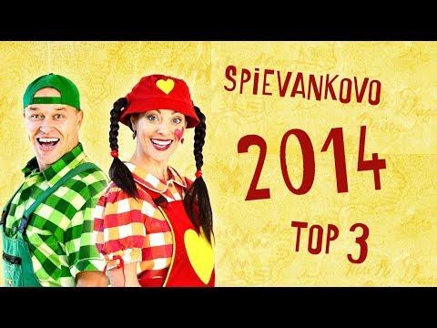 TOP 3 - 2014 - Najobľúbenejšie videá zo SPIEVANKOVA v roku 2014