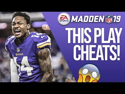 One of the Best Passing Plays In Madden 19! Super Glitchy Routes!