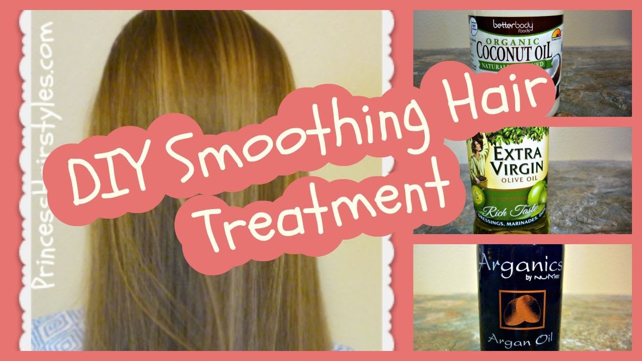 Beautiful DIY Smoothing Hair Treatment, Coconut Oil Hair Mask Recipe At Home   YouTube