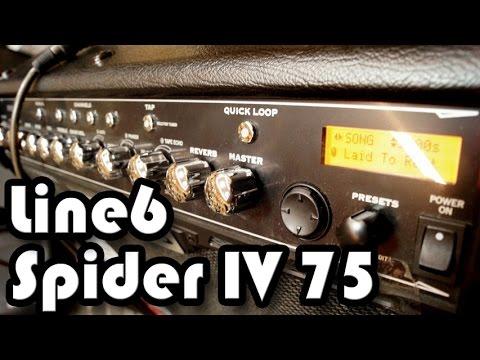 Line 6 Spider IV 75 Sound Demo