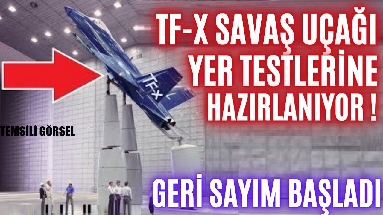 TF-X MİLLİ MUHARİP UÇAK YER TESTLERİNE HAZIRLANIYOR ! TÜRKİYEDE BİR İLK GERÇEKLEŞECEK  !!