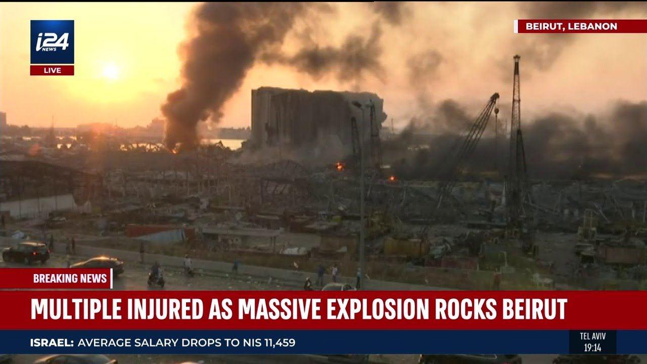 Massive Explosion in Beirut Not Terror-Related, Officials Report