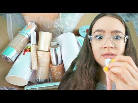 HUGE Natural & Cruelty Free Makeup HAUL! FionaFrills Vlogs
