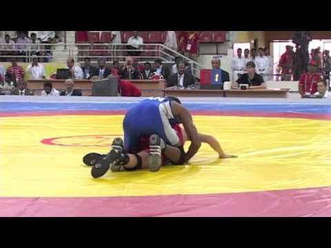2008 Commonwealth Youth Games: 42 kg Jack Longthorne (ENG) vs. Jonathon Babulall (CAN)