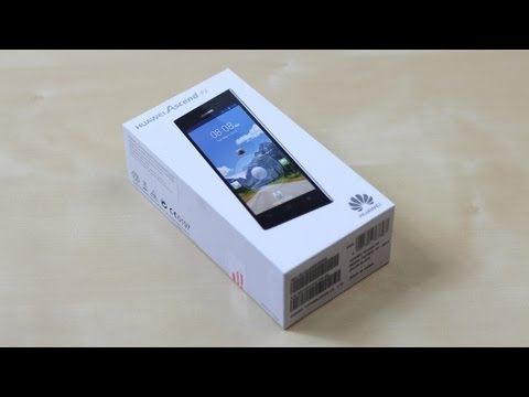 Unboxing: Huawei Ascend P2 | SwagTab