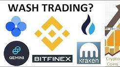 Cryptocurrency Exchange Scam! What is Wash Trading?