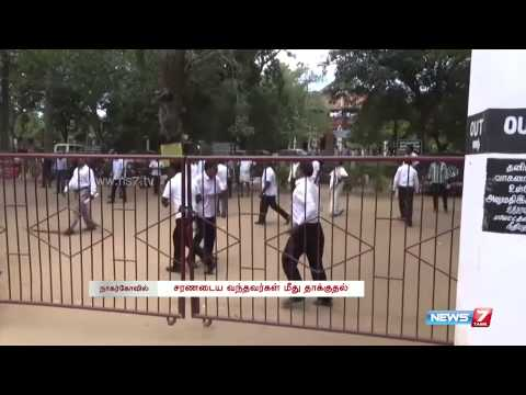 Advocates beat the accused who came for surrender in Nagercoil | Tamil Nadu | News7 Tamil