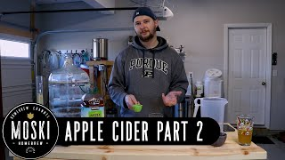 Making Hard Apple Cider - Part 2