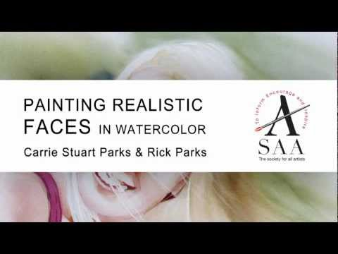 Book Review – Painting Realistic Faces in Watercolor