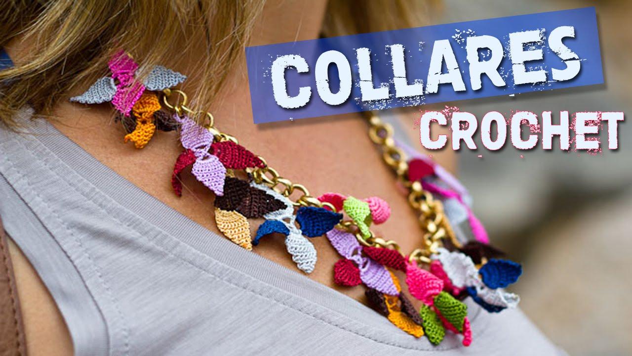 Collares Tejidos A Crochet Youtube