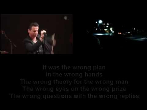 Depeche Mode - Wrong lyrics