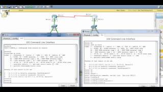 configuring RIPv1 & RIPv2