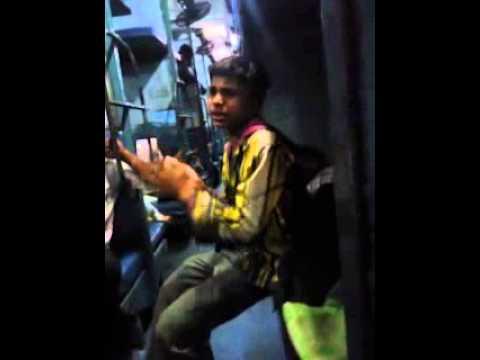 Talent of slum in indian rail
