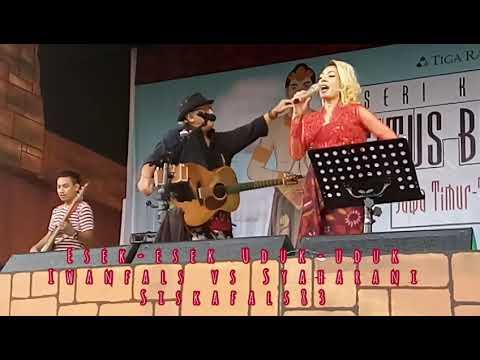 Konser situs Trowulan ESEK-ESEK UDUK-UDUK( FALS vs SYAHARANI) Full PanggungKita karaoke masal