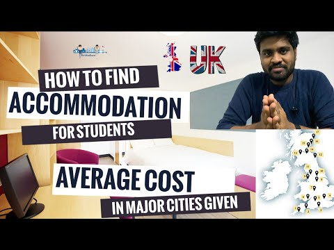 How to find Student Accommodation in UK | Cheap accommodations in UK | Average rent in major cities