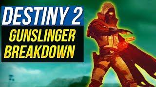 Destiny 2 HUNTER GUNSLINGER SUBCLASS Breakdown Guide - Revamped Subclass Abilities